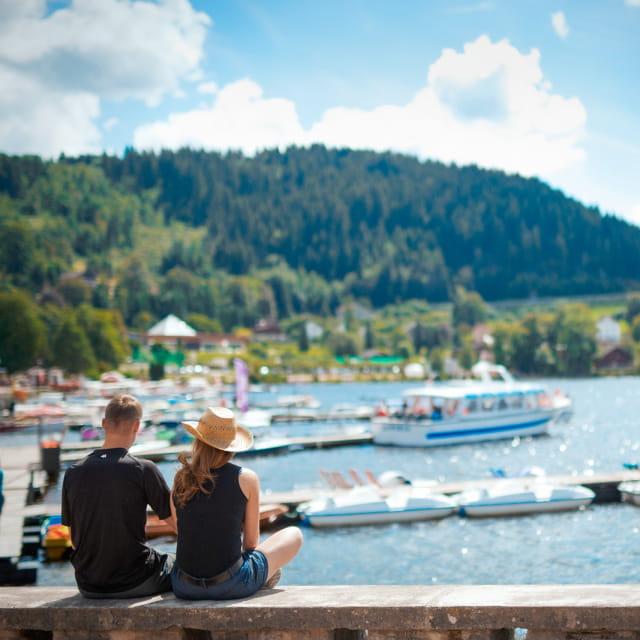 Balade bords du lac de Gérardmer