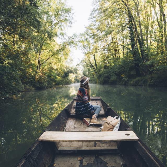 Barque à fond plat, Grand Ried