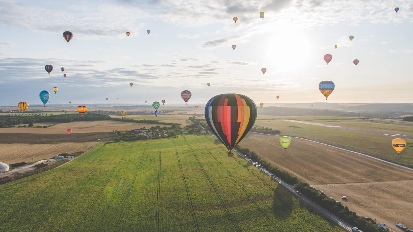 Grand Est Mondial Air Ballons à Chambley