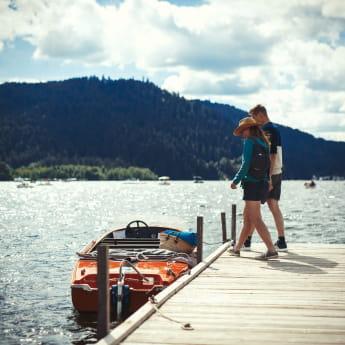 Promenade en bateau sur le lac de Gerardmer